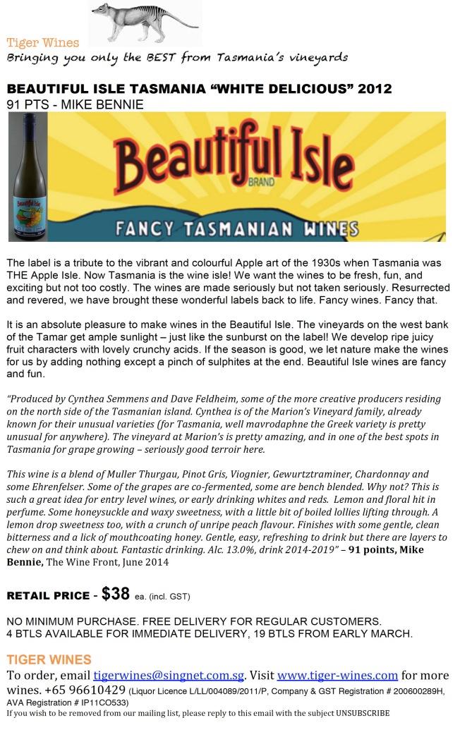 2012 Beautiful Isle White Delicious 3