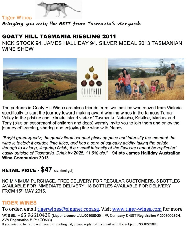 2011 Goaty Hill Riesling 3