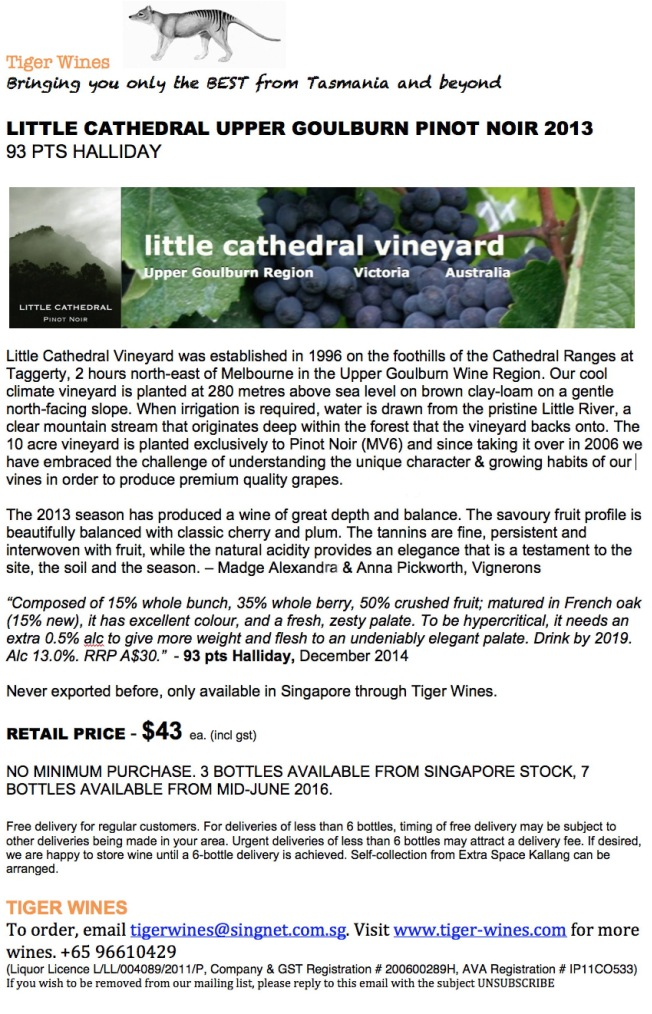 2013 Little Cathedral PN