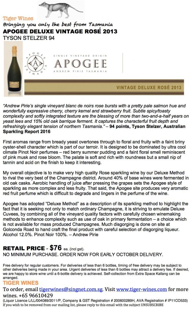 2013 Apogee Deluxe Vintage Rose