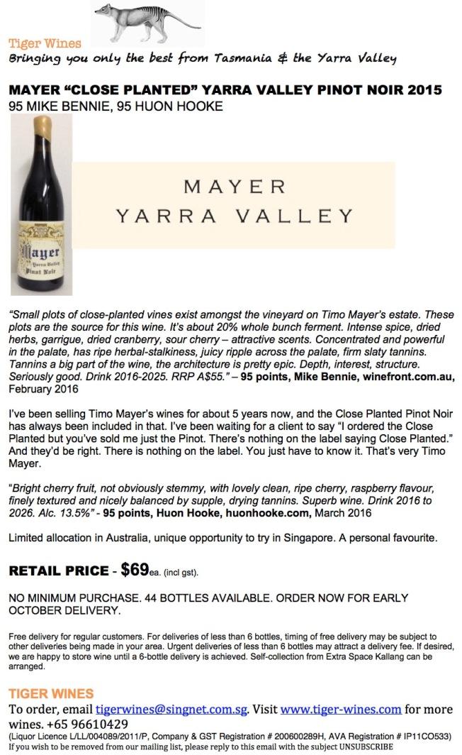 2015 Mayer CP PN